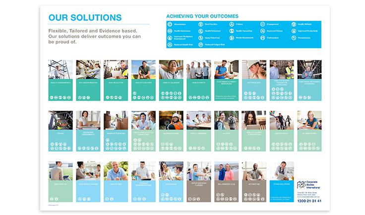 Poster, brochures & social media.